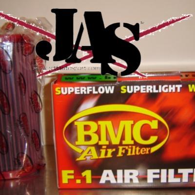 Filtre à air BMC en remplacement de l'origine Gtt