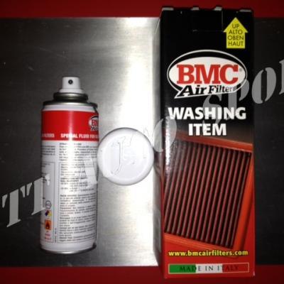 Huile en spray BMC pour filtre à air coton