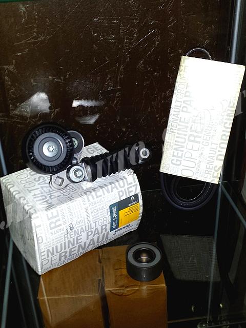 kit courroie d 39 accessoires pour renault clio 2 rs. Black Bedroom Furniture Sets. Home Design Ideas