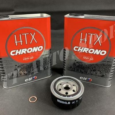 Pack Vidange ELF HTX Chrono 10w60 Gtt / R11 T