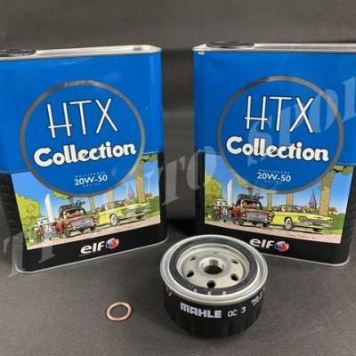 Pack Vidange ELF HTX Collection 20w50 Gtt / R11 T