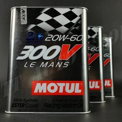Huile moteur Motul 300V 20W60 Le Mans ( pack 6litres)