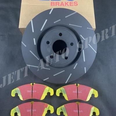 Disques De Frein Avants EBC Ultimax USR Et Plaquettes Yellowstuff Focus RS Mk2 (pack)