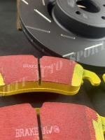 Pack ebc disques ultimax yellow stuff focus rs mk2 2