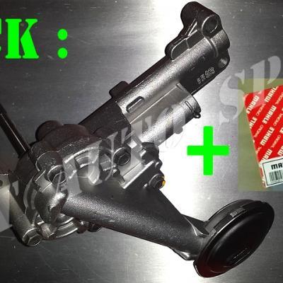 Pompe à huile et coussinets (bagues) d'arbre de pompe Clio 16 / Williams (kit)