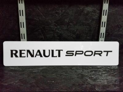 plaque renault sport. Black Bedroom Furniture Sets. Home Design Ideas