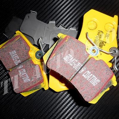 Plaquettes arrières EBC Yellowstuff CRS 3 / CRS 4 / MRS 2 / MRS 3 / TRS