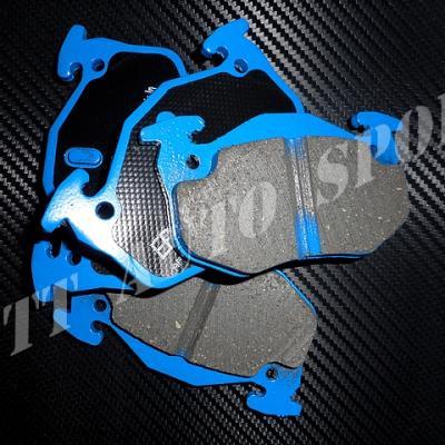 Plaquettes arrières EBC Bluestuff Gtt / R11T / Clio 16 / CRS II