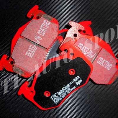 Plaquettes arrières EBC Redstuff Gtt / R11T / Clio 16 / CRS II