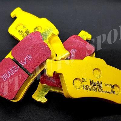 Plaquettes arrières EBC Yellowstuff MRS II phase 1