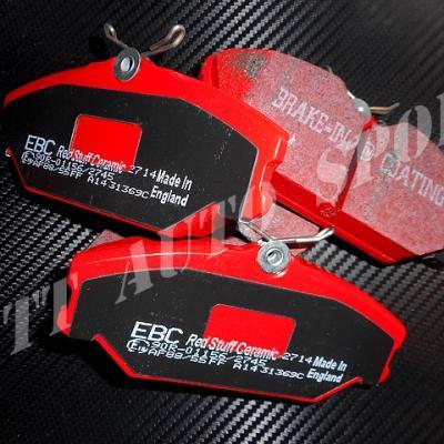 Plaquettes avants EBC Redstuff CRS II