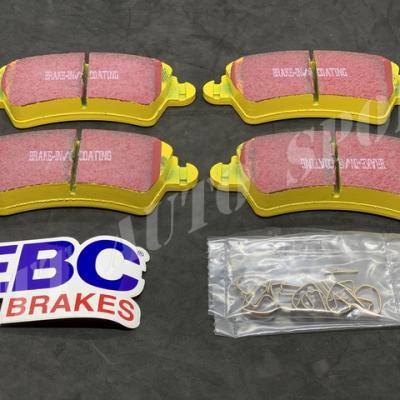 Plaquettes avants EBC Yellowstuff Peugeot 206 S16
