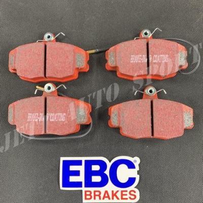 Plaquettes avants EBC Redstuff Gtt / Clio 16 / Williams / R19 16S / R11 T