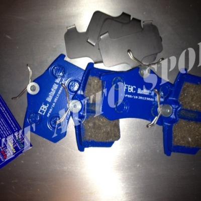Plaquettes arrières EBC Bluestuff MRS II / MRS III / CRS III / CRS IV