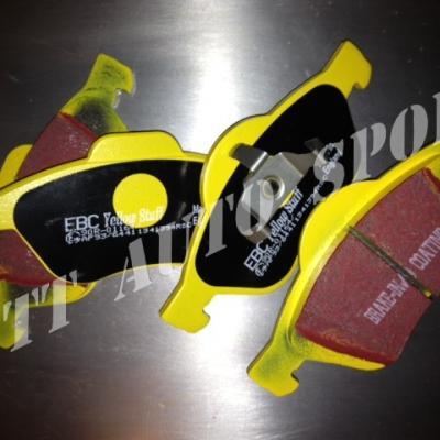 Plaquettes avants EBC Yellowstuff TRS